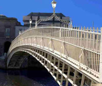 Refurbishment of the Ha' Penny Bridge Dublin